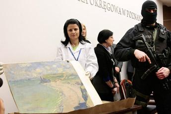 Hallan un Monet robado hace más de nueve años en Polonia