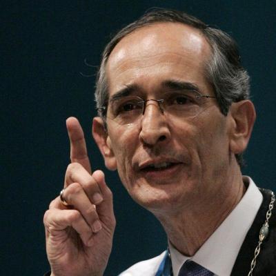 El presidente de Guatemala acusa al muerto por desestabilizar el país