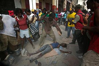 Linchamientos en Haití