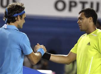 Federer, el maestro, se florea y va por Murray