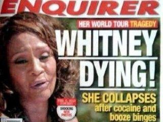 Whitney Houston ¿al borde de la muerte?