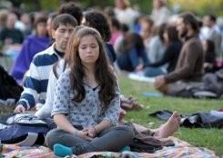 Meditación zen reduce dolor