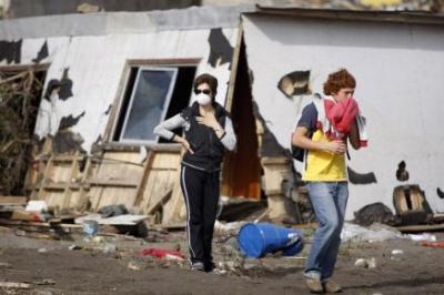 Dos fuertes terremotos hacen salir despavoridos de sus casas a sufridos chilenos