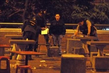 Un muerto y diez heridos por estallido de granada en Medellín