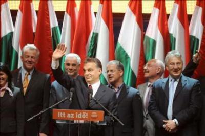 La derecha gana en Hungría por mayoría abrumadora