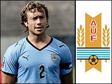 La BBC elige al uruguayo Diego Lugano para iniciar serie de entrevistas a futbolistas que juegan su primer Mundial.