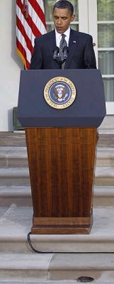 Un ratón revienta la conferencia de prensa de Obama