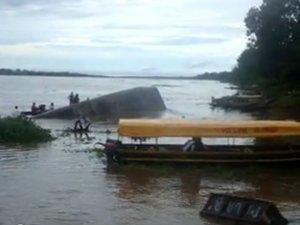 12 muertos tras hundimiento de embarcación en río Amazonas