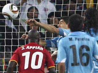 Luis Suárez: Lo mío fue la atajada del mundial