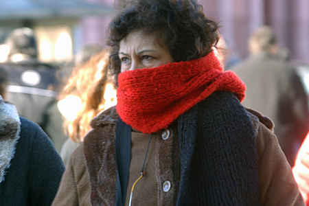 24 horas más de frío polar para Uruguay