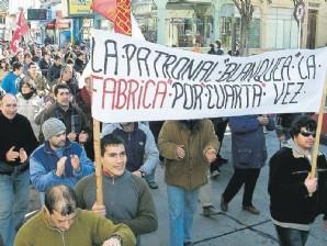 Una ciudad uruguaya se queda sin trabajo y todos sus habitantes salen a la calle