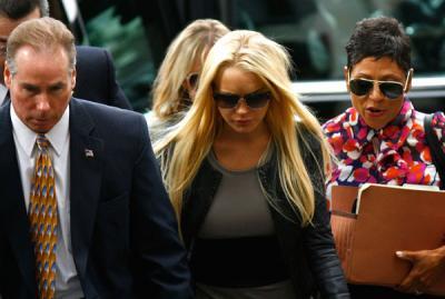 Lindsay Lohan acaba en una celda de aislamiento por sus ataques de histeria