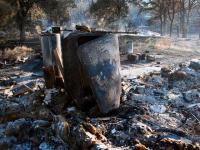 Incendio arrasa un pueblo entero en Rusia