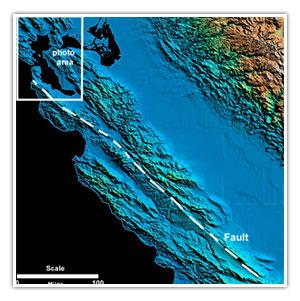 Un seísmo de gran magnitud en California está cada vez más cerca