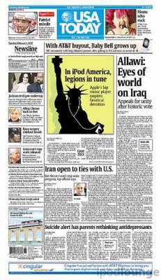 Periódico 'USA Today' despedirá a 130 empleados debido a los bajos ingresos por publicidad en los últimos años