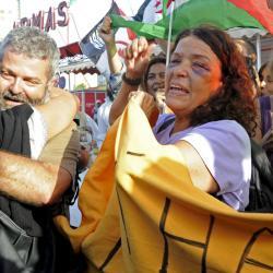 """Activistas canarios golpeados por la policía de Marruecos piden un """"acto de valentía"""" al gobierno español"""