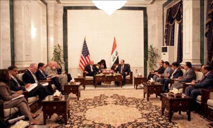 """Un Irak """"soberano e independiente"""" dice adiós a la misión de combate de Estados Unidos"""