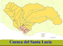 Instalan sensores especializados para el monitoreo de la cuenca del Santa Lucía