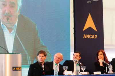 Sendic gastó 360 mil dólares en fiesta para inaugurar planta de ANCAP junto a Cristina K