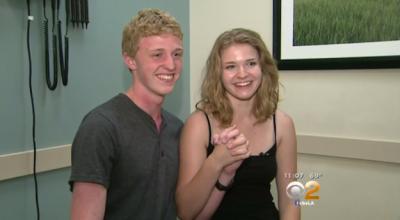 El amor los salvó: pareja de adolescentes sobrevive a impacto de un rayo
