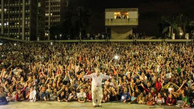 "Pepe Mujica ""como estrella de rock"" sacude a Río de Janeiro"
