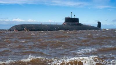 Gigante submarino nuclear ruso se dirige hacia las costas de Siria