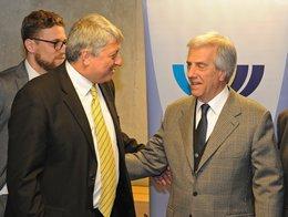 Presidente Vázquez participó de ceremonia por año nuevo judío