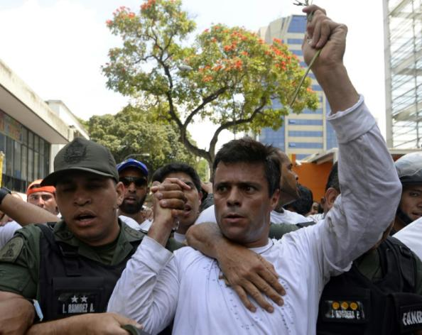 La justicia venezolana condena al opositor López a casi 14 años de cárcel