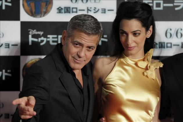 Vecinos furiosos con George Clooney y su mujer por las obras en la casa en Inglaterra