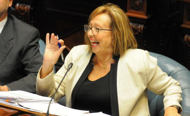 La oposición tomó la educación como un caballito de Troya, dijo María Julia Muñoz
