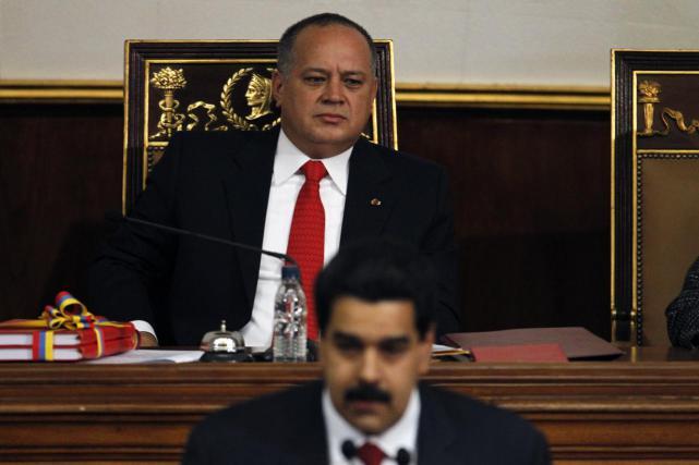 El número dos del Chavismo llama inmorales a tres eurodiputados españoles y no los recibe