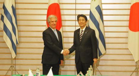 Gobierno de Japón destacó la importancia de Uruguay como socio en la región