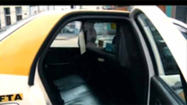 Paro de taxistas en Montevideo contra la decisión de sacar las mamparas