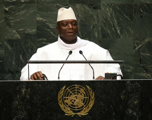 """El presidente de Gambia afirma que su país pasó a ser """"un Estado islámico"""""""