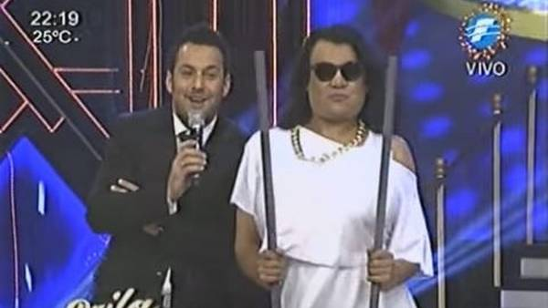 Parodia de Moria Casán entre rejas en TV de Paraguay