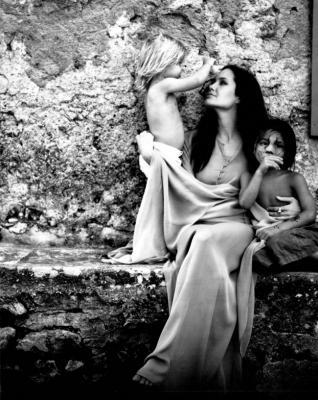 Brad Pitt fotografió a su esposa tal y como él la ve