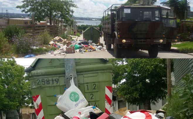 Adeom repudia al Ejército por recolección de basura en Montevideo