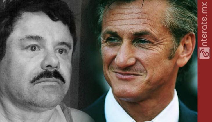 Sean Penn quiere volver a charlar con El Chapo