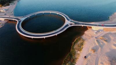 El puente circular de Uruguay que está en boca de todo el mundo