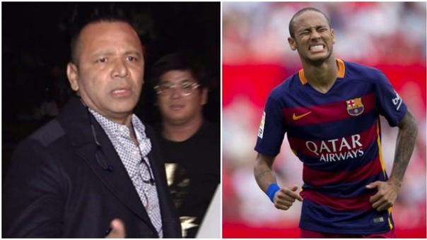 Padre de Neymar agredió a periodistas en la fiesta de su hijo
