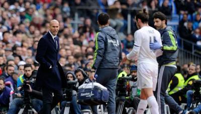 Zidane se harta de Bale y de sus continuas lesiones y recaidas