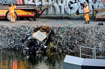 5 británicos mueren al caer a un río su coche cuando circulaba por Estocolmo