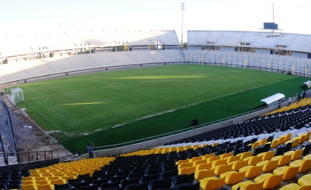 El templo de Peñarol está pronto