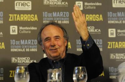 Serrat habló de la vigencia de Zitarrosa y su cariño por Uruguay