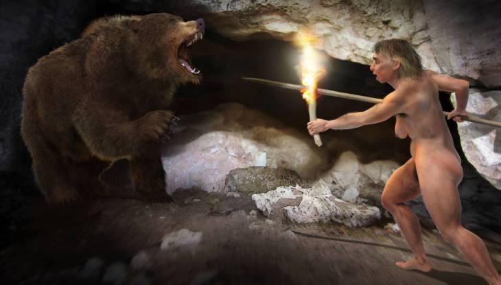 Científicos revelan que los neandertales usaban óxido de manganeso para hacer fuego