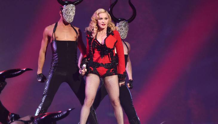 Madonna se emborracha en su show y pide sexo