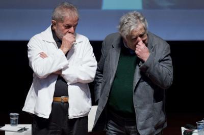 """Mujica: """"Lula es inocente y lo quieren castigar porque es una carta peligrosa para el futuro"""""""