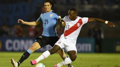 Uruguay le ganó a Perú y puntea Eliminatorias para el Mundial de Rusia