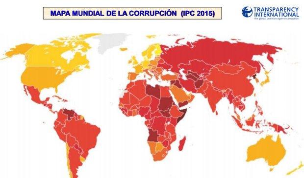 Uruguay es el 3er país menos corrupto del continente detrás de Canadá y EEUU