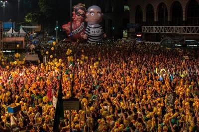 """Dilma Rousseff recibe la decisión de la Cámara Baja con """"indignación y tristeza"""""""
